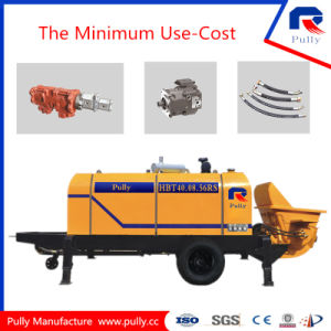 Pully Manufacture Portable Concrete Pump (HBT40-08-56RS) pictures & photos