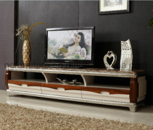 Hot Selling High Gloss TV Stand with MDF Drawer (8620#) pictures & photos