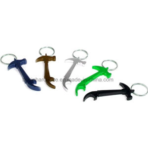 Hammer Tool Shaped Aluminum Bottle Opener pictures & photos