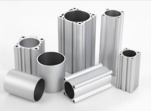 Aluminium Alloy Square Pipe DNC Pneumatic Cylinder Tube pictures & photos