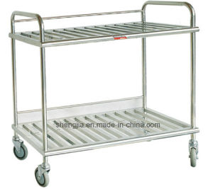 Sjt057 Dressing Trolley for Operation Room pictures & photos