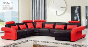Modern Italian Leather Sofa with L Shape Sectional Sofa pictures & photos