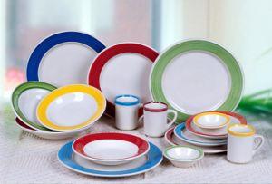 Good Selling Hotel Ceramic Dishware Set pictures & photos