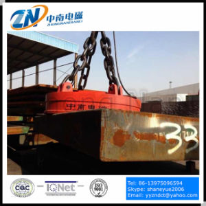 Circular Lifting Electromagnet for Steel Thick Plate Lifting MW03 pictures & photos