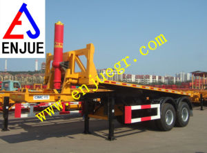 20 Feet 40 Feet Hydraulic Telescipic Container Tilter Hydraulic Container Tilter for Loading Corn and Rice Grains pictures & photos