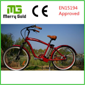 26*2.125 Tyre Ebike Classic Cruiser 36V 250W Electric Bike pictures & photos