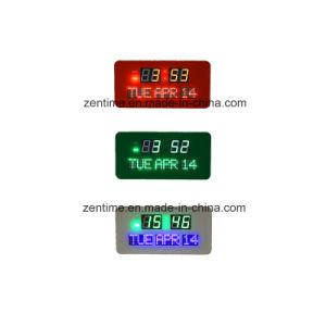 LED Digital Wall Calendar Clock (JDL-512AR) pictures & photos