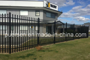 Zinc Coat Steel Tubar Fencing Garrison Fencing pictures & photos