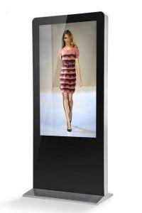 Aio LCD Kiosk-Ad Display Kiosk-Interactive Display Kiosk
