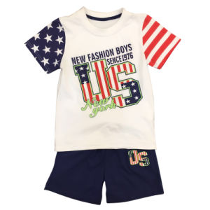 Fashion Kids Boy T-Shirt Suit for Children′s Clothing pictures & photos