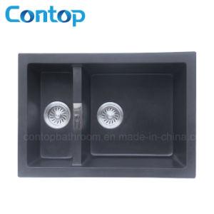 1&1/4 Bowl Composite Granite Kitchen Sink pictures & photos