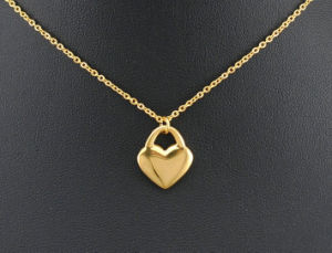 Shineme Jewelry 316L Stainless Steel Fashion Gold Plated Necklace with Ear Stud (SSNL2646) pictures & photos