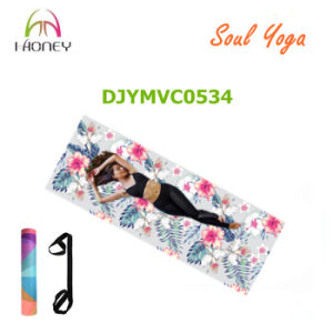 Premium Microfiber Yoga Mat Provides Enough Cushion and Suitable for Yoga Studio Professional Yoga Mat pictures & photos