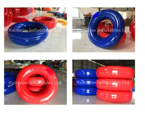 Hot Selling Advertising Swim Ring Inflatable Adult Swim Ring for Slip Slide pictures & photos