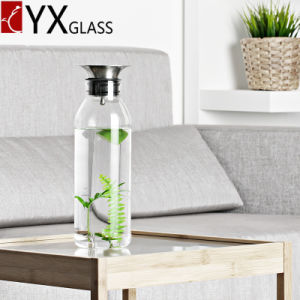 1000ml Glass Water Pitcher Cold Water Pitcher Fruit Juice Pot of Cold Water Jug/Glass Cold Brew Coffee Maker Cold Tea Juice Milk Glass Jars pictures & photos