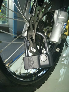 Two Eagles Multipurpose Bicycle Lock, Padlock for Door and Cabinet, Household Padlock and Bike Lock pictures & photos