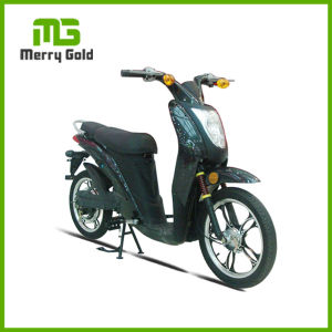 Narrow Wheel Non-Foldable Light Electric Scooter Motorcycle 500W pictures & photos