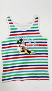 Fashion Stripe Cotton Boy Tank Top Children Wear pictures & photos
