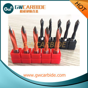 Solid Carbide Tipped 2 Flute Dowel Drills Three Point Wood Drilling Bit pictures & photos