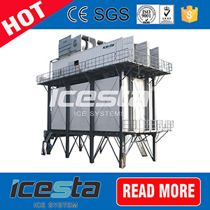 Icesta Fast Freezing Concrete Cooling Ice Machine pictures & photos