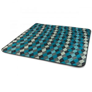 Factory Cheap Check Portable Beach Rug, Camping Blanket. pictures & photos