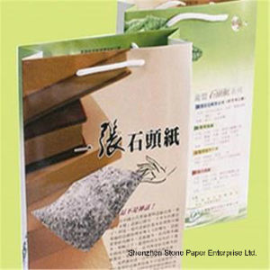 Stone Paper (RPD-180) Rich Mineral Paper Double Coated-180um pictures & photos