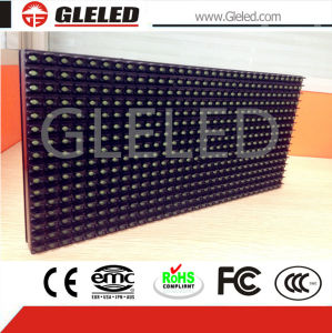 Negative Polarity High Brightness P10 Single Green LED Display of Outdoor pictures & photos