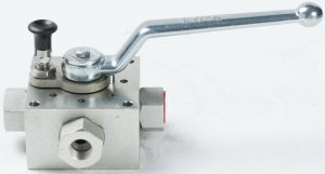 Multi-Way Hydraulic Ball Valve pictures & photos