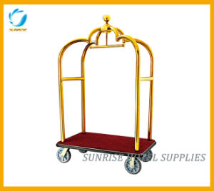 Grand Hotel Bellman′s Cart Luggage Trolley pictures & photos