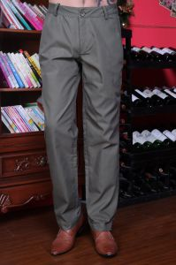 Stock! Fashion Cotton Mens Trousers pictures & photos