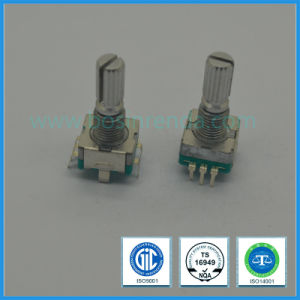 Push Shaft Incremental Rotary Encoder with Knurled Slotted Shaft, Flat Shaft, Round Shaft pictures & photos