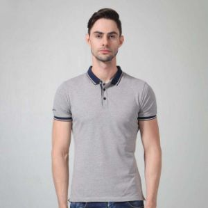 Custom Men′s Fashion Yarn Dyed Stripe Polo Shirt pictures & photos