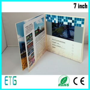 Hot Sale 7 Inch IPS/HD Video Greeting Card for LCD pictures & photos