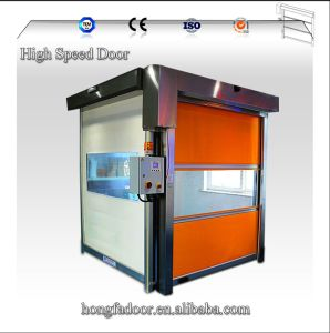 PVC High Speed Roller Shutter Door pictures & photos