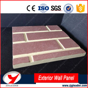 Exterior Wall Brick Fiber Cement Cladding pictures & photos