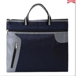 OEM Tote Bag Polyester A4 Bag Fashion Business File Bags
