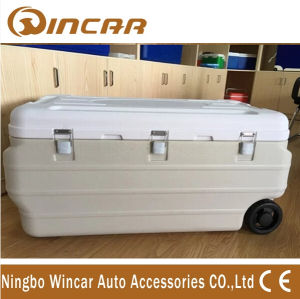 Different Capacity Insulated Trolley Ice Box Cooler with Wheel