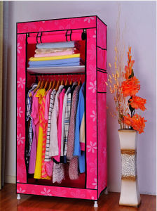 Foldable Cheap High Quality Fabric Bedroom Wardrobe Closet pictures & photos