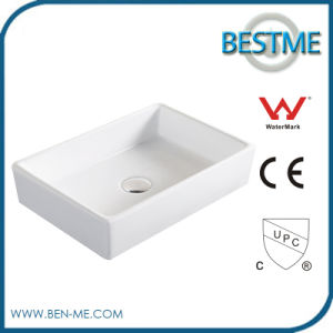 Popular Ceramic Material Small Size Art Wash Basin pictures & photos