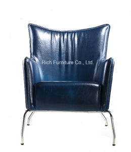 Modern Living Room Leisure Chair with Metal Legs pictures & photos