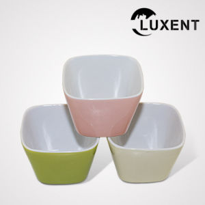 Wholesale Porcelain Bakeware Colorful Cake Tin Square