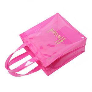 Small Size Waterproof PVC Jelly Shopping Bag (H033) pictures & photos