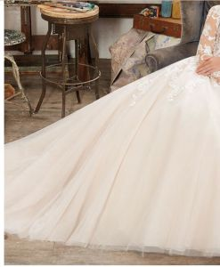 2017 Long Sleeve Lace Bridal Wedding Dresses Wd1710 pictures & photos