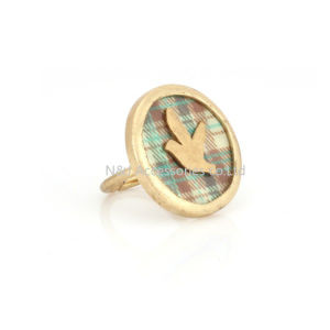 New Arrivals Gold Plated Rings Bird Ring for Girl Women Gift Jewelry pictures & photos