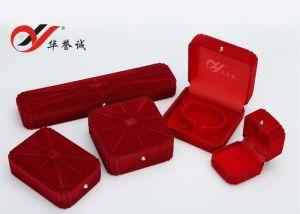 Elegant Red Velvet Jewelry Box Set pictures & photos