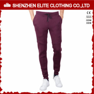 Hot Selling High Quality Burgundy Jogger Pants (ELTJI-8) pictures & photos