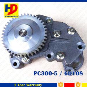 6D108 Oil Pump for Excavator Engine Part PC300-5 (6221-51-1101) pictures & photos