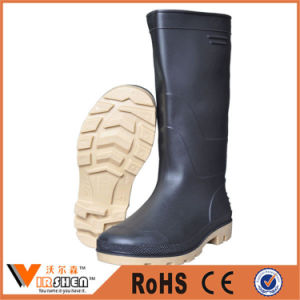 Prefessional PVC Rain Safety Gum Boots Competitive Price pictures & photos