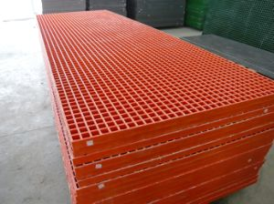 Fiberglass Molded Gratings, FRP/GRP Products pictures & photos