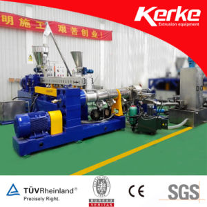 Two Stage Plastic Extrusion Machine for ABS Flame Retardant Masterbatch pictures & photos